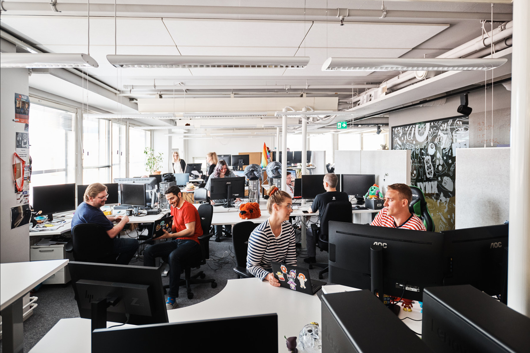 Ubisoft RedLynx office in Helsinki, Finland